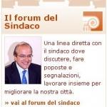 """""""Il forum del Sindaco"""" sul sito istituzionale, lo strumento che non funziona"""
