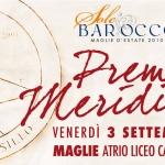 3 settembre, Premio Meridiana in diretta tv