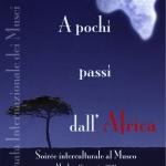 """18 maggio, """"A pochi passi dall'Africa"""" Soirée interculturale al Museo"""