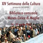 XIV Settimana della Cultura,gli eventi alla Biblioteca e al Museo