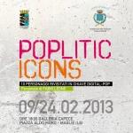 """""""Poplitics icons"""", personale di Fabio Leone"""