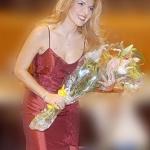 Chianciano Terme, Monia Palmieri ha condotto la Banda Musicale della GDF
