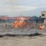 Fòcara incendiata, aiuto di tutti per ricostruire
